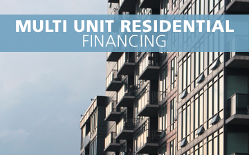 Multi Unit Residential Financing